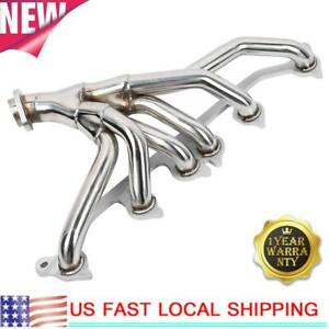 For 91-99 JEEP WRANGLER CHEROKEE 4.0L STAINLESS RACING MANIFOLD HEADER EXHAUST