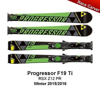 Fischer P09315 Race Carver Ski Progressor F19 Ti RSX Z12 Powerrail NEU 2016