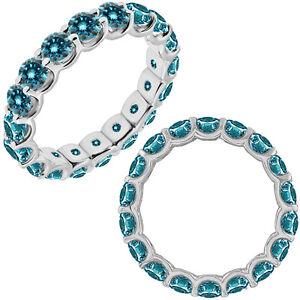 1-Carat-Blue-Diamond-Engagement-Wedding-U-Shape-Full-Eternity-Ring-White-Gold-1
