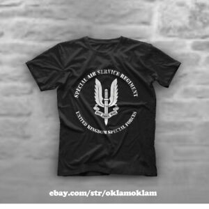 British Army Special Forces UK SAS Air Military T-Shirt