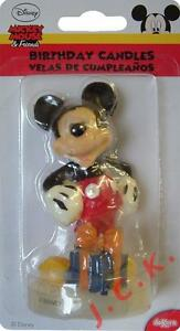 9cm Mickey Mouse Disney birthday cake candle toppers decorations