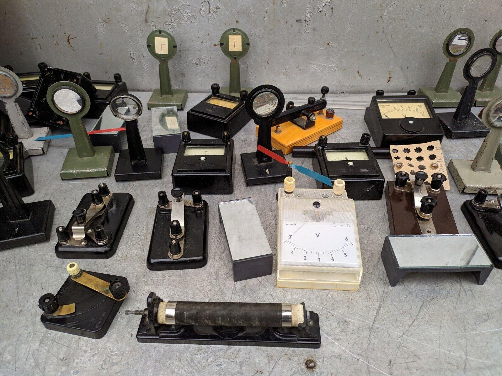 Lab School Experiment Electromagnetism Optics Physics Vintage Big lot