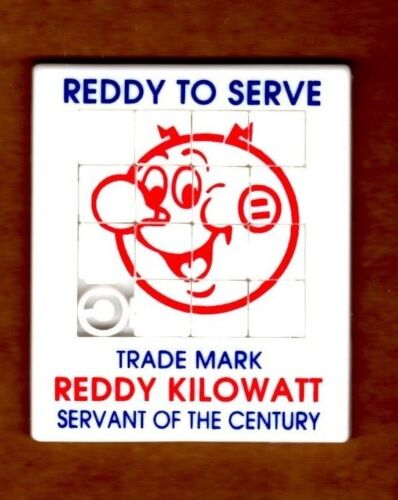 Reddy Kilowatt Puzzle slide game advertisement give away MINT OLD STOCK