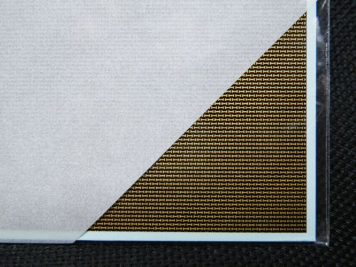 A for Model Kit CF001 Speed Hobby Carbon Pattern Decal