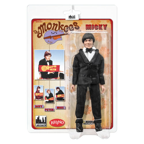 The Monkees 8 Inch Mego Style Action Figures Tuxedo Outfit: Micky Dolenz