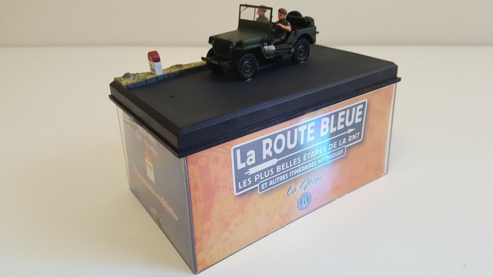 Altaya  La Route bluee  Jeep Willys US US US Army  Manoeuvre militaire  Lyon-Chambéry 34ff90