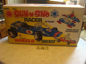 1969-SEALED-unused-MARX-SUN-N-SNOW-RACER-2-in-1-marx-ride-on-car