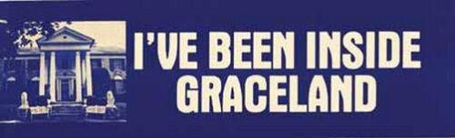 I/'ve Been Inside Graceland  Memphis Tennessee  Elvis Presley Travel Sticker