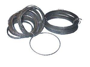 Adventringe-25-cm-Drahtring-Bindering-50-Stueck-Wellenringe-Ring-aus-Draht