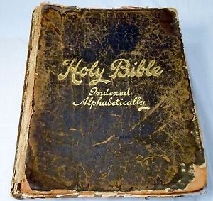Image Is Loading Old Holy Bible Oxford Devotional Edition 1890s Softcover