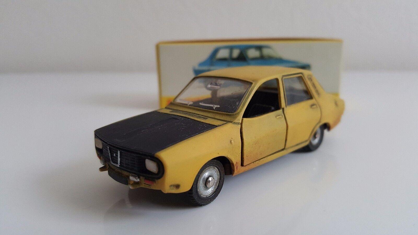Dinky Toys (Code 3) - 1424 G - Renault 12 Gordini sur base DTF