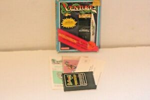 Intellivision-Game-Venture-Complete-in-Box-w-Manual-Coleco-Arcade-Exidy-1981