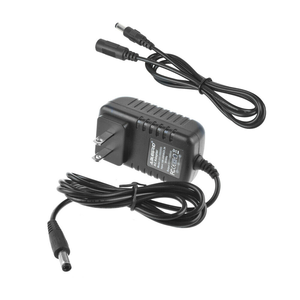 6ft 9V AC/DC Adapter Charger for Gold's Gym Cycle Trainer 300Ci Excerise Bikes