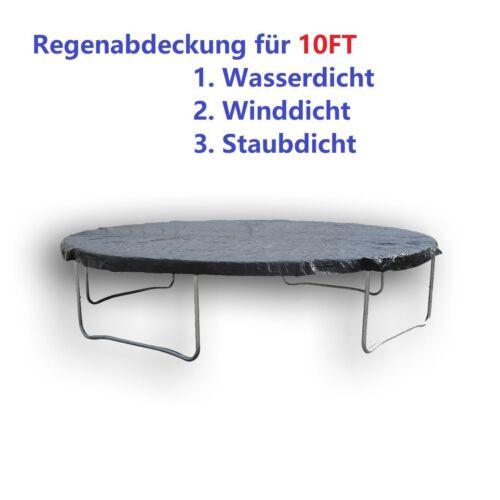 Pluie Couverture bâche de protection pour 10 ft trampoline Schulz pour eau Vent et poussière
