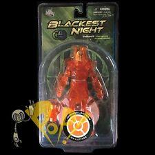 BLACKEST NIGHT Series 8 ORANGE LANTERN LEX LUTHOR Action Figure DC Direct!