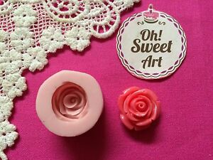 Rose Flower Silicone Push Mold Food Safe Cake Decoration Candy Cupcake (FDA)