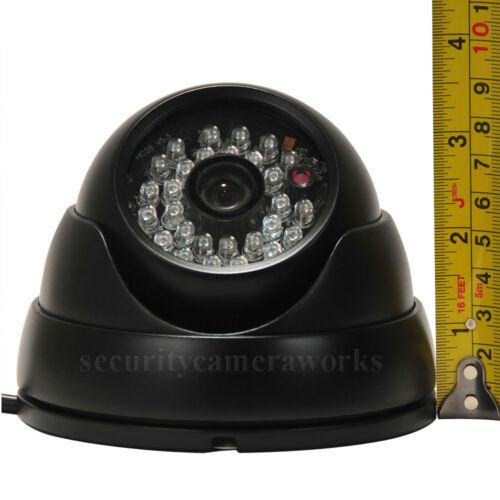 2x Security Camera Outdoor IR Day Night Wide Angle w// Sony Effio CCD 600TVL bwi