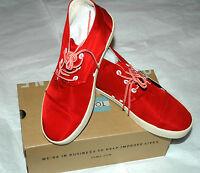 Toms Men's Paseo Mid Shoe Molten Lava Nylon Size 7