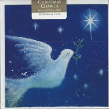 Christmas Charity Cards DOVE OF PEACE by Museum & Galleries 8 cards & envelope.