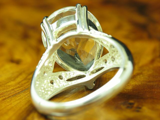 925 Sterling argentoo Anello con guarnizione in Spinell in in in puro argentoo 6 7g rg56 bf236c