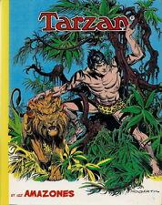 RARE EO LOT BURNE HOGARTH 2 TARZAN ET LES AMAZONES ( LUXE + NOIR & BLANC )