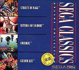 Sega Classics: Arcade Collection -- 4 in 1 (Sega CD, 1992)DISC ONLY UNTESTED