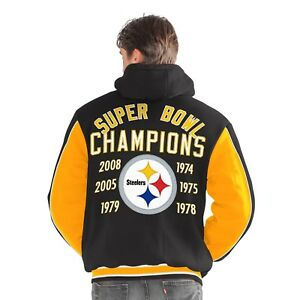 Pittsburgh Steelers 6-Time Super Bowl Champions 1ST CLASS Varsity ... 7ab907a92