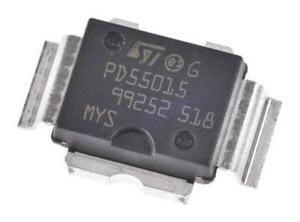 1-x-STMicroelectronics-PD55015-E-RF-MOSFET-5A-40V-72-Watt-N-Chan-1-GHz-PowerSO