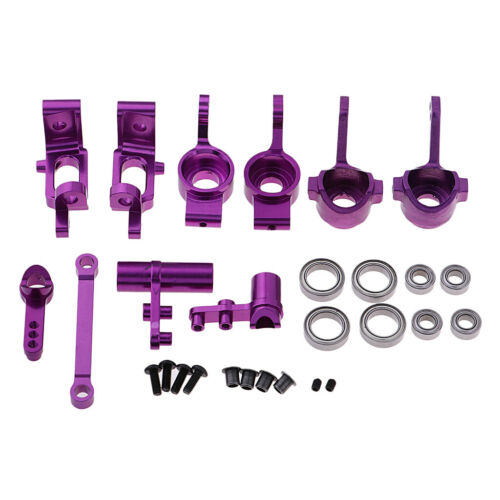 1//10 RC Car Upgrade Steering Parts Set for HSP 94122 94123 94111 94188 RC Truck