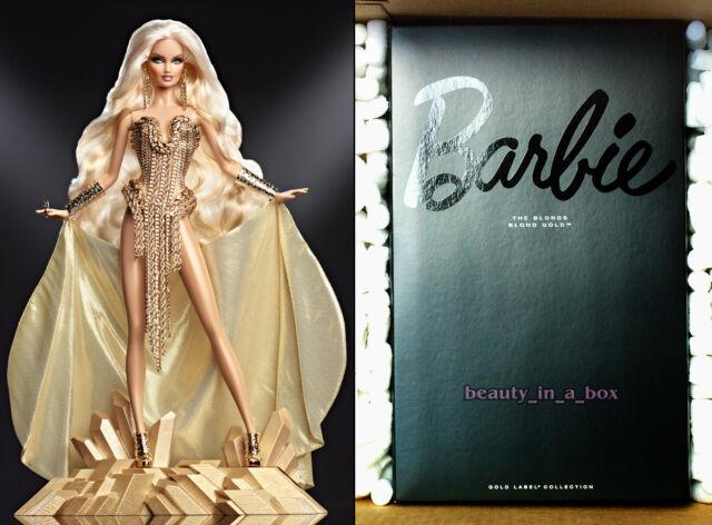 The Blonds Blond Gold Barbie Collector Doll Mattel Gold Label Bill Greening