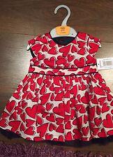 Girls GORGEOUS Summer Red Party Dress BNWT AGE 18 - 24 Months MATALAN