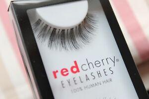 Red-Cherry-IVY-415-falsche-unechte-kuenstliche-Echthaar-Wimpern-strip-lash