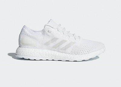 adidas PureBOOST Clima White Grey Men Running Casual Shoes Sneakers BY8897 | eBay