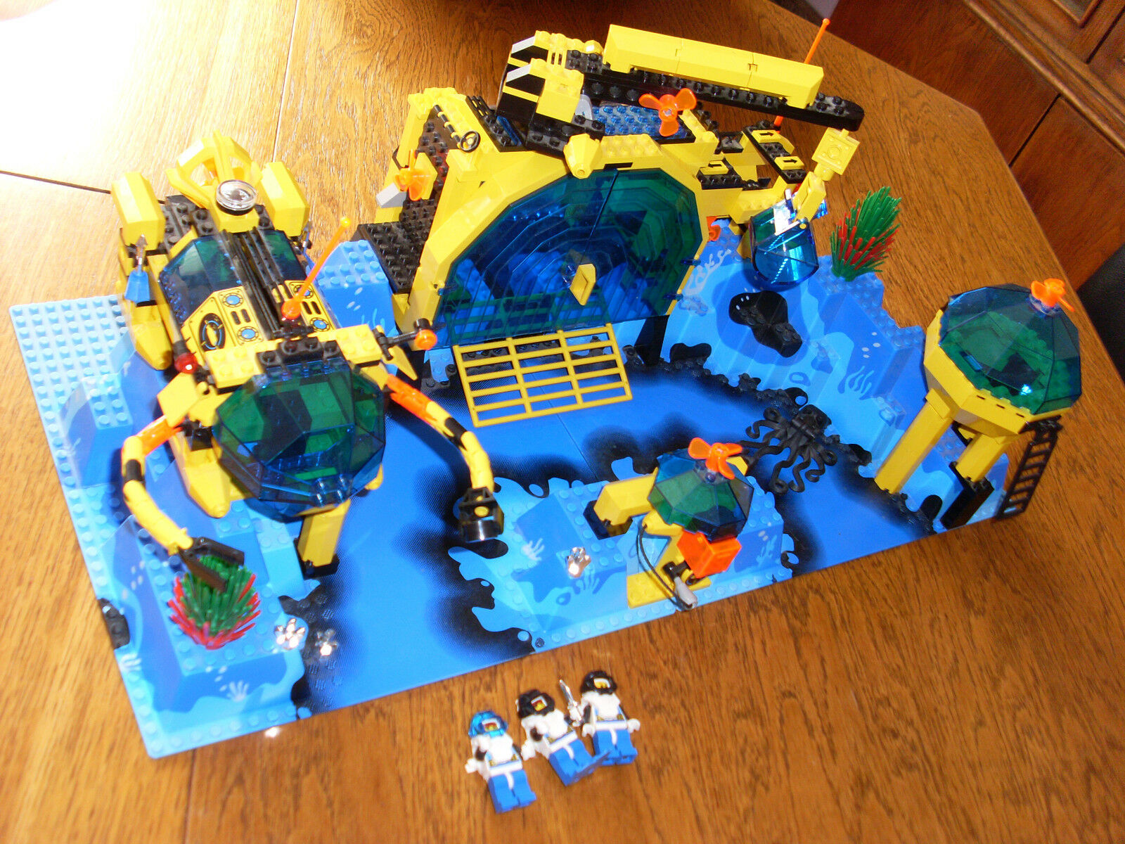 Lego System 6195 Aquanauts + Bauanleitung guter Zustand