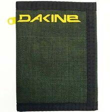 Dakine Vert Rail Mens Mans Boys Ripper Style Wallet Olive Tri Fold