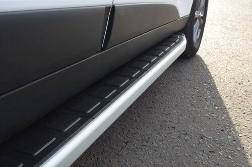 BARRE di alluminio laterali passi Pedane per adattarsi SUBARU FORESTER 2013+