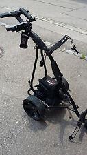 Elektro Golf Trolley CADDYONE 400, schwarz, 300W, 33Ah-Akku mit Original-Zubehör