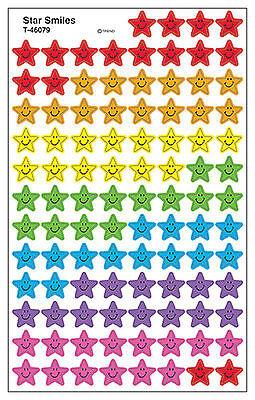 ideale per TABELLONE 800 STAR SMILE SCUOLA INSEGNANTE Ricompensa adesivi