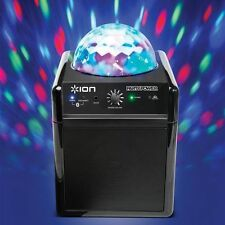 ION Audio Party Power Portable Bluetooth Speaker With Party lights New!!!