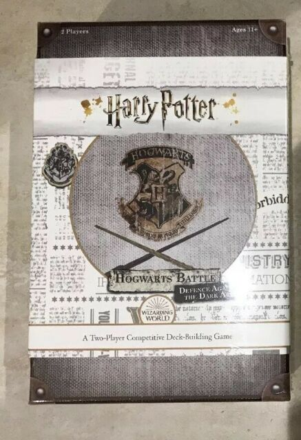 Harry Potter Hogwarts Battle Defence Against The Dark Arts Usaopoly Shipp For Sale Online Ebay