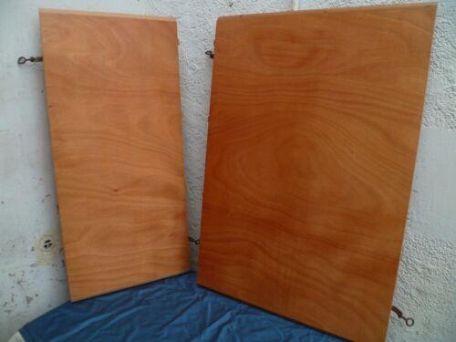 2 Allonges extensions en bois pour table style table ovale Louis Philippe
