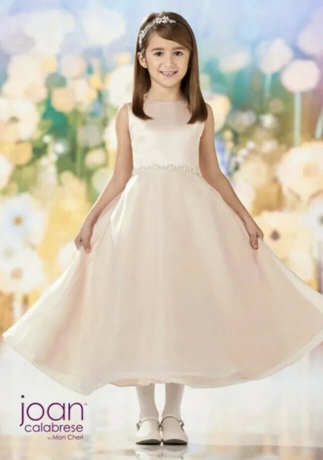 NWT Joan Calabrese MON CHERI 218349 Communion Flower Girl Dress Size 8