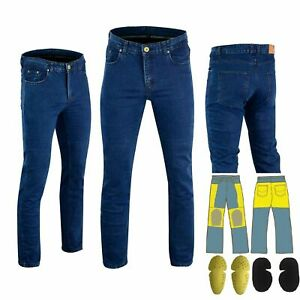 Mens-Jeans-Motorcycle-Reinforced-Jeans-Made-With-DuPont-Kevlar-Biker-Pant-Blue
