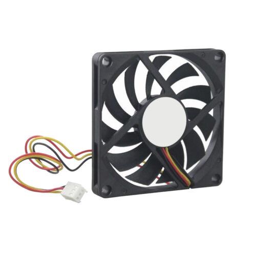 2//3//4 Pin Computer Cooler 8010 80x80x10mm Axial Fan 12V 24V DC