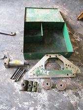 Greenlee Hydraulic Pipe Conduit Bender Model 777 1 14 12 2 Dies Case Tube