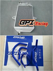 For Yamaha ATV BANSHEE YFZ350 YFZ 350 1987-2006 88 Aluminum radiator and hose