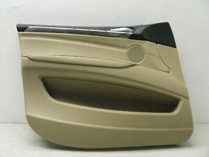 07-13-BMW-E70-X5-FRONT-LEFT-DRIVER-DOOR-INTERIOR-TRIM-PANEL-OEM-102919