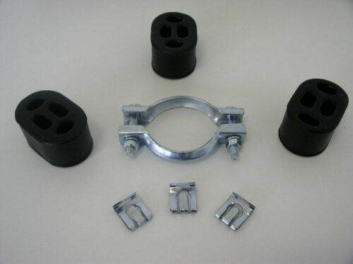 Gummihalter Schelle für Endtopf Saab 9-3 900 II Auspuffhalter Montagesatz