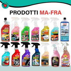 Prodotti Mafra per Lavaggio e Pulizia Auto e Moto - Crea il Tuo