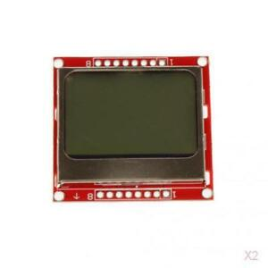 2pcs-84x48-Pixel-LCD-Module-Backlight-Adapter-PCB-LCD-pour-Nokia-5110